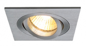 12V Multi Lamp LED Downlights NEW TRIA 1 MR16 - Aluminium