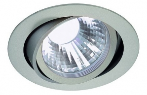 LED Philips COB Downlights NEW TRIA LED 11W 60 Degree Downlight - Silver