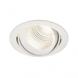 LED Downlights NEW TRIA DLMI ROUND 26W 60 Degree Downlight - White