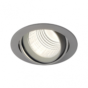 LED Downlights NEW TRIA DLMI ROUND 26W 60 Degree Downlight - Silver