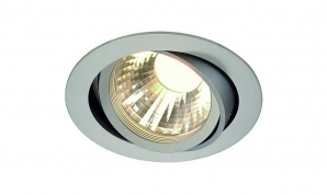 Ceiling LED Downlights - CRI80> 12W 800lm 60' CRI80 LED Downlight (2700K) Silver