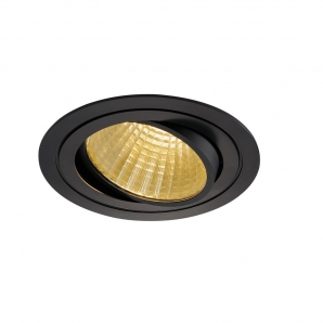 Ceiling LED Downlights - CRI80> 24.5W 2425lm LED Downlight (3000K) Black