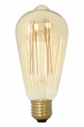 E27 & E40 GIANT Filament Lamps 240V 4W 320lm E27 ST64 Vintage (2100K) Dimmable