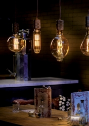 Window Display Lighting GIANT Vintage LED Filament Lamps