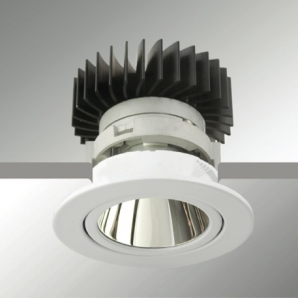 LED VIBRANCY Luminaires IMP Round Downlight - White