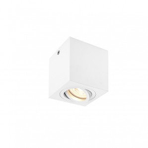 TRILED Surface Mount Downlights TRILED SQUARE 240V GU10 Downlight - White