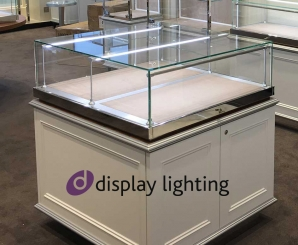 LED Linear Display Lighting DP2LED Double Gantry Luminaires
