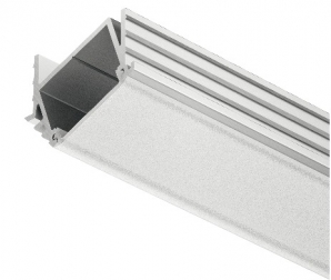 LED Linear Display Lighting SRAPLED Recessed Angled Luminaires