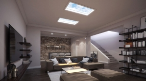 LED Downlights SkyLUX Smart Artificial Daylight Solution