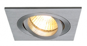 240V Multi Lamp Recessed Downlights New Tria 1 ES111 - Aluminium