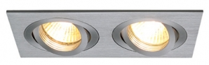 GU10 Recessed Downlights New Tria II GU10 - Aluminium