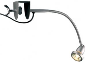 GU10 Clamp Spotlights NEAT FLEX 50W GU10 Clamp Spotlight   Silver