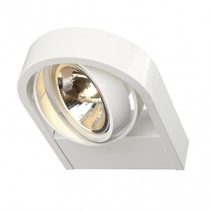240V Surface Mount Spotlights AIXLIGHT R WALL G53 AR111 50W Spotlight - White