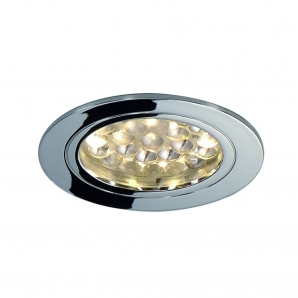 LED UNDER CABINET Lighting 1.7W LED Downlight (3000K) Chrome