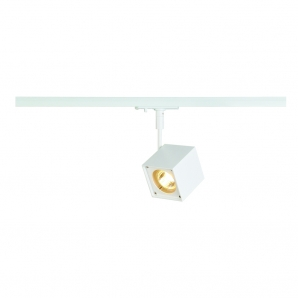 1 CIRCUIT Track Luminaires ALTRA DICE Spotlight - White