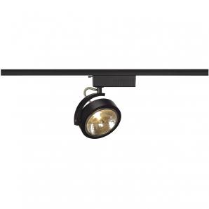 Display Lighting Ltd: 1 CIRCUIT Track Luminaires KALU AR111 Spotlight - Black,Lighting
